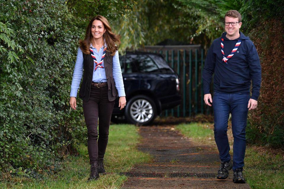 Herzogin Kate und Matt Hyde.