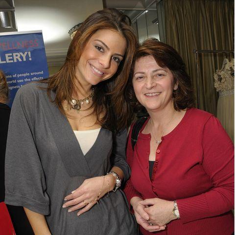 Maria Menounos mit ihrer Mutter Litsa