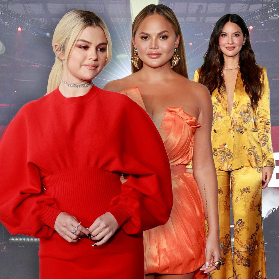 Selena Gomez, Chrissy Teigen, Olivia Munn