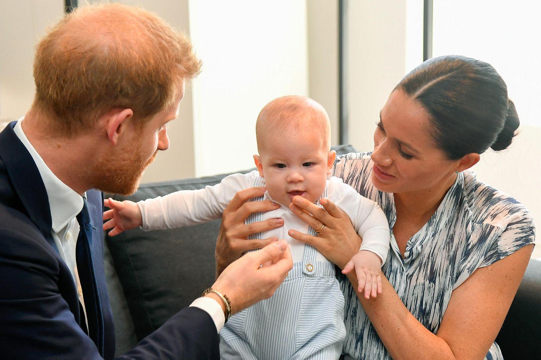 """""""Es ist nicht schlimm, dass Archie keinen Kontakt zu Williams Kindern hat"""""""