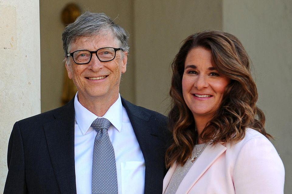 Bill Gates und Melinda Gates