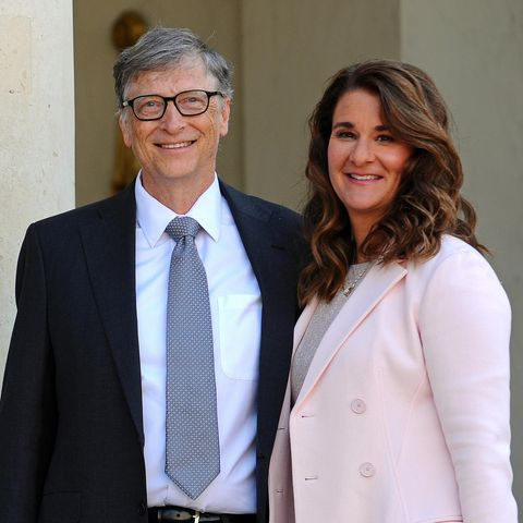Bill Gates und Melinda Gates