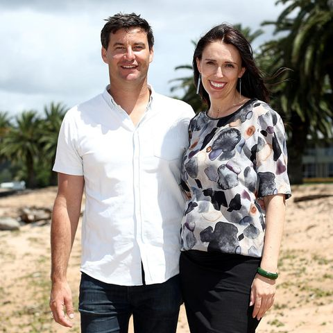 Clarke Gayford und Jacinda Ardern
