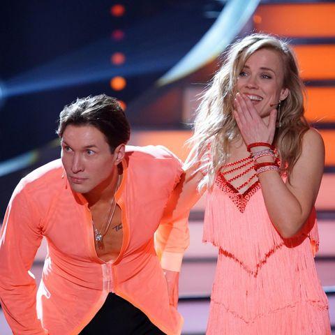 Ilse DeLange und Evgeny Vinokurov