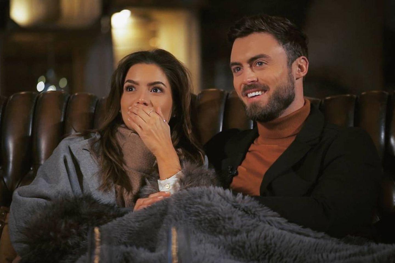 """Michèle de Roos und Niko Griesert bei """"Der Bachelor"""""""