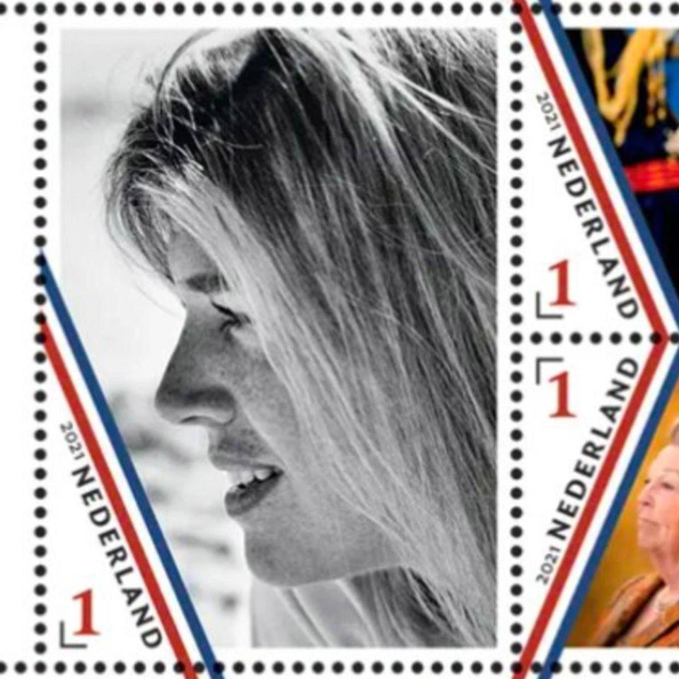 7. Mai 2021  Königin Máxima feiert am 17. Mai ihren 50. Geburtstag. Zu Ehren der beliebten Regentingibt die niederländische Post nun ein Briefmarken-Set mit Motiven von früheren Veranstaltungen heraus. Vor allem die natürliche Schwarz-Weiß-Aufnahme wird dabei bestimmt für einen besonderen Hingucker auf zahlreichen Briefsendungrnsorgen.