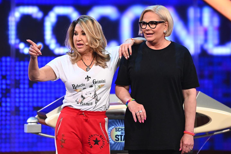 """Carmen Geiss und Claudia Effenberg bei """"Schlag den Star"""""""