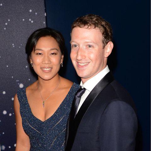 Priscilla Chan und Mark Zuckerberg