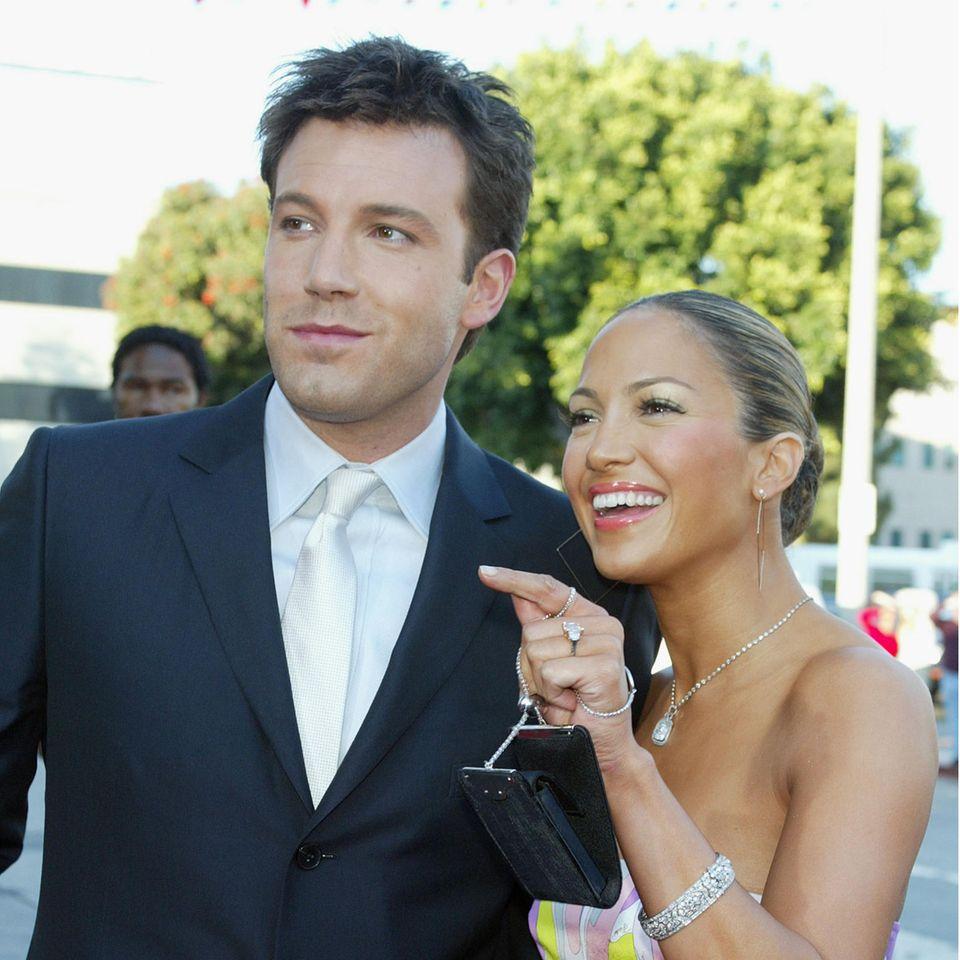 Ben Affleck und Jennifer Lopez waren von 2002 bis 2004 liiert.