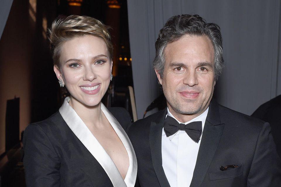 Scarlett Johansson und Mark Ruffalo