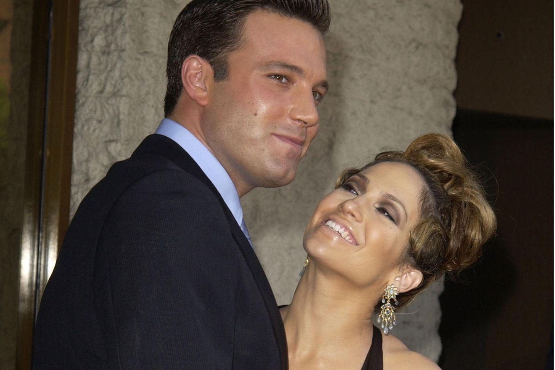 Ben Affleck und Jennifer Lopez, hier im Jahr 2003.