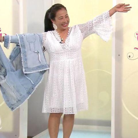 Shopping Queen Kandidatin Minh auf Sylt
