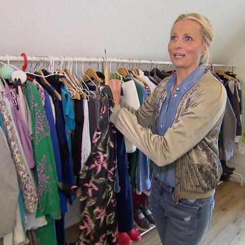 Shopping Queen Kandidatin Steffi bei sich zu Hause