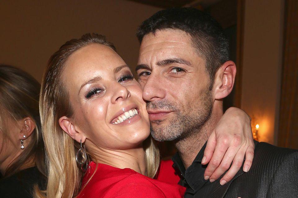 Isabel Edvardsson mit ihrem Mann Marcus Weiß