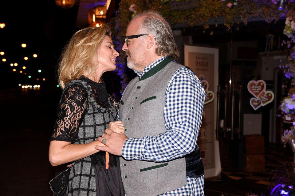Claudelle Deckert und Peter Olsson