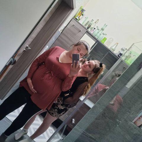 Sarafina Wollny mit ihrer Schwester Loredana