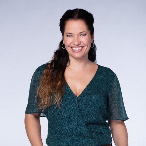 """Rote Rosen"": Darstellerin Katja Frenzel verkörpert Tina Richter"