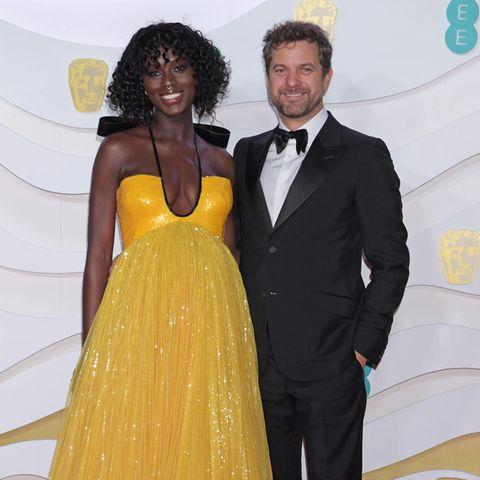 """Jodie Turner-Smith und Joshua Jackson beim Besuch der """"British Academy Film Awards"""" im Februar 2020 in der Londoner Royal Albert Hall."""