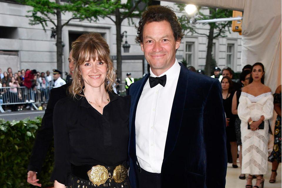 Catherine FitzGerald und Dominic Wes sind seit 11 Jahre verheiratet.