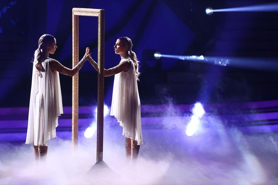 """Cheyenne und Valentina Pahde bei """"Let's Dance"""""""