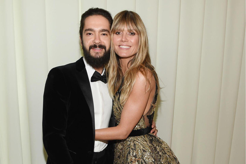 Tom Kaulitz und Heidi Klum sind ein Herz und eine Seele.
