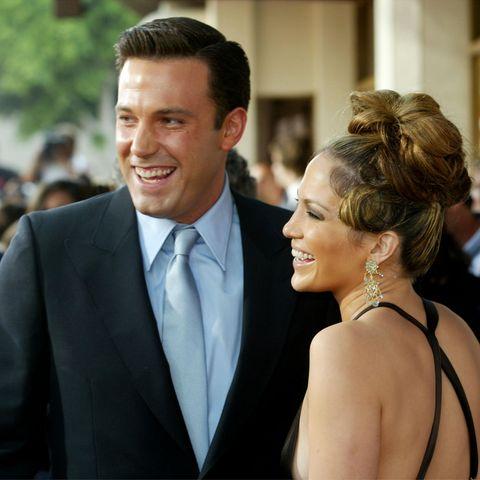 """Ben Affleck und Jennifer Lopez 2003 bei der Premiere ihres gemeinsamen Films """"Gigli"""""""