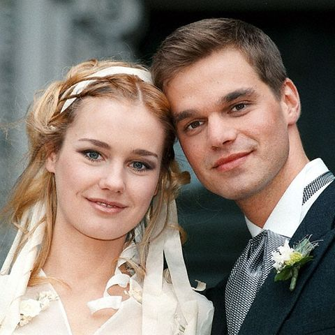 Rhea Harder-Vennewald und Raphael Schneider im Jahr 1998
