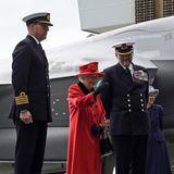22. Mai 2021  Es ist schon der zweite öffentliche Termin, den Queen Elizabeth nach dem Tod und der Beisetzung ihres Mannes Prinz Philipwahrnimmt. Die Königin besucht die Marinebasis in Portsmouth, und das sogar mit guter Laune.