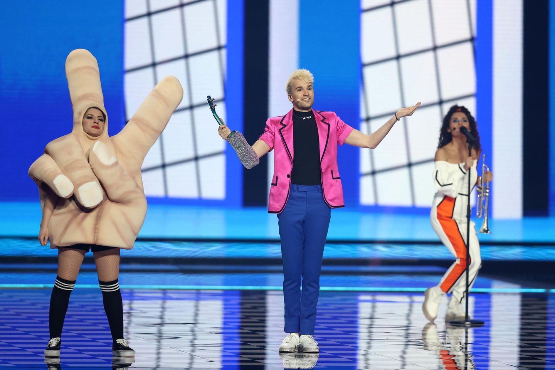 Eurovision Song Contest 20 Deutschland belegt Platz 20 von 20 ...