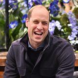 Aber nicht nur auf der Rennstrecke hat Prinz William seinen Spaß.