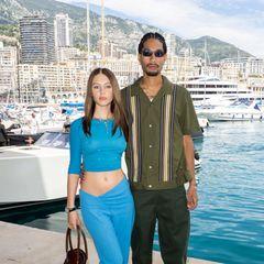 Mittlerweile ist Iris Law schon 20 Jahre alt –und an ihrer Seite ist statt Papa jetzt immer öfter ihr FreundJyrrel Roberts zu sehen, wie hier in Monaco.
