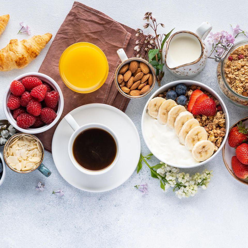 Ein leckeres, gesundes Frühstück