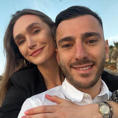 Anna Wilken und ihr VerlobterSargis Adamyan