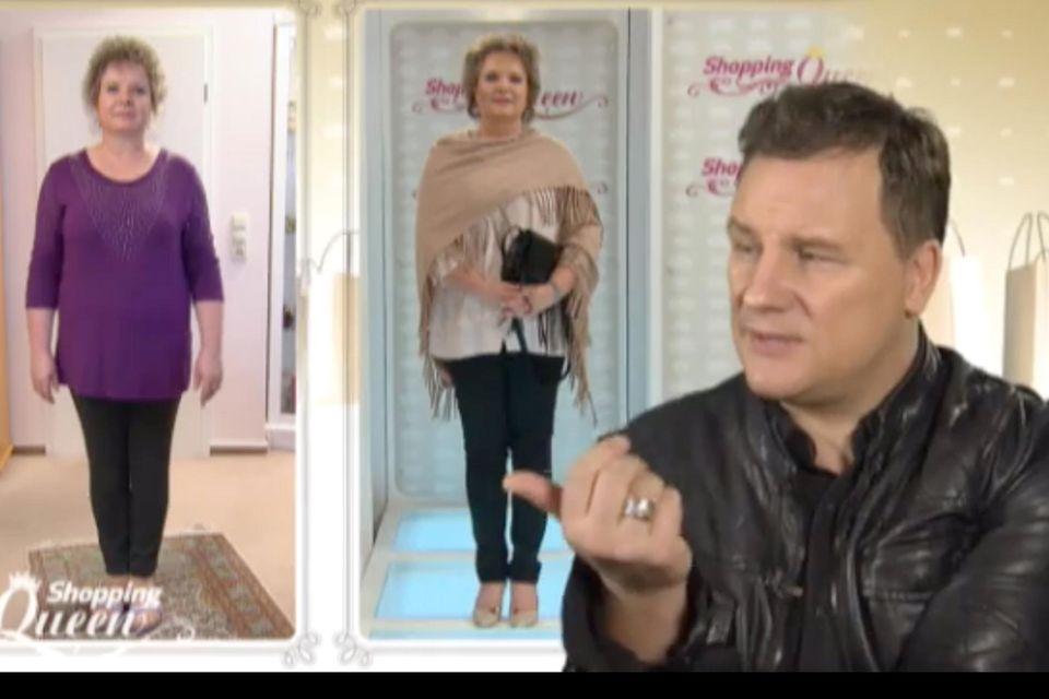 "Connis neuer Look bei Shopping Queen: ""Viel besser als am Morgen"", findet Guido Maria Kretschmer."