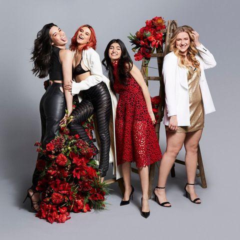 Alex, Romina, Soulin und Dascha