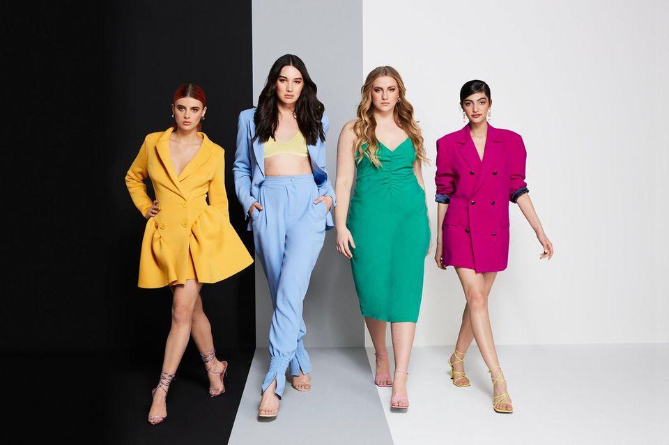 """Romina, Alex, Dascha und Soulin kämpfen um den Titel """"Germany's Next Topmodel"""""""