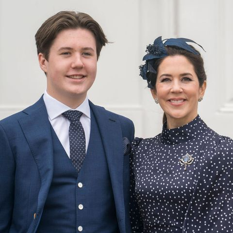 Prinz Christian und Prinzessin Mary