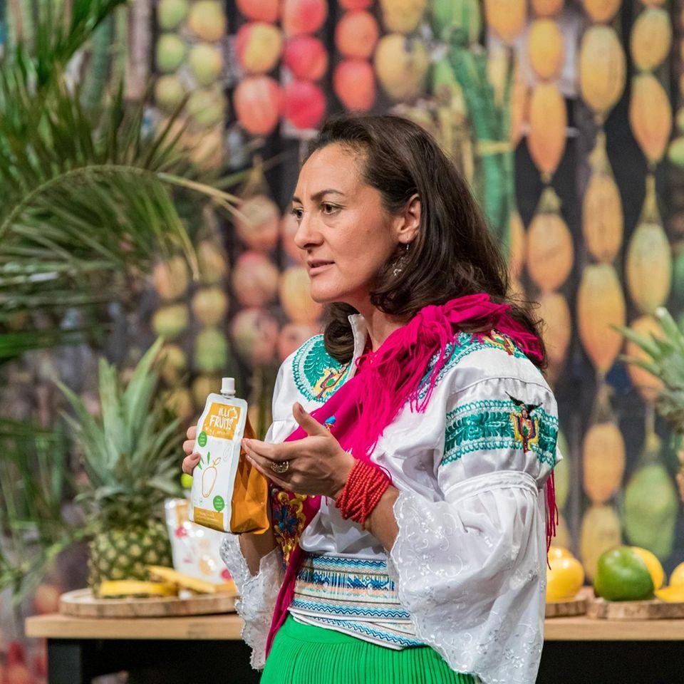 """""""Hilli Fruits""""-GründerinPaulina Carrera bei """"Die Höhle der Löwen"""" (auf VOX und TVNOW)"""