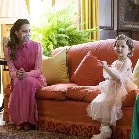 Herzogin Catherine und Mila
