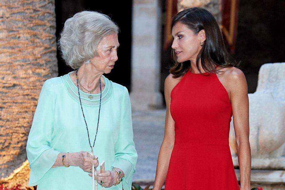 Königin Sofía und Königin Letizia
