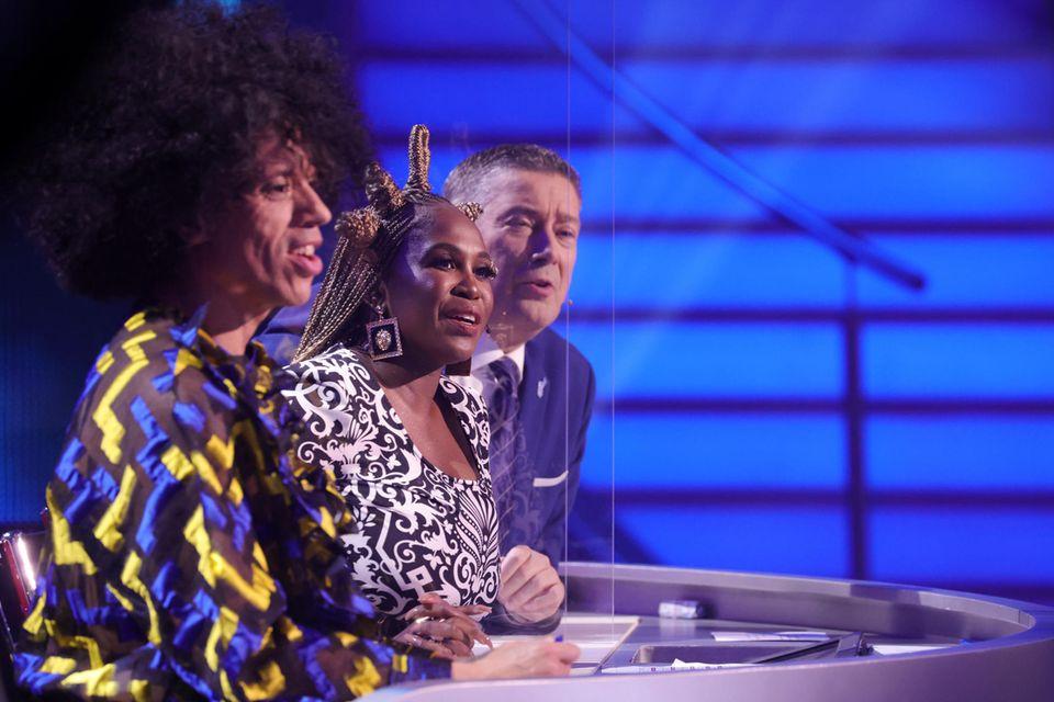 """Let's Dance""-Jury:Jorge González, Motsi Mabuse und Joachim Llambi (v.l.n.r.)"