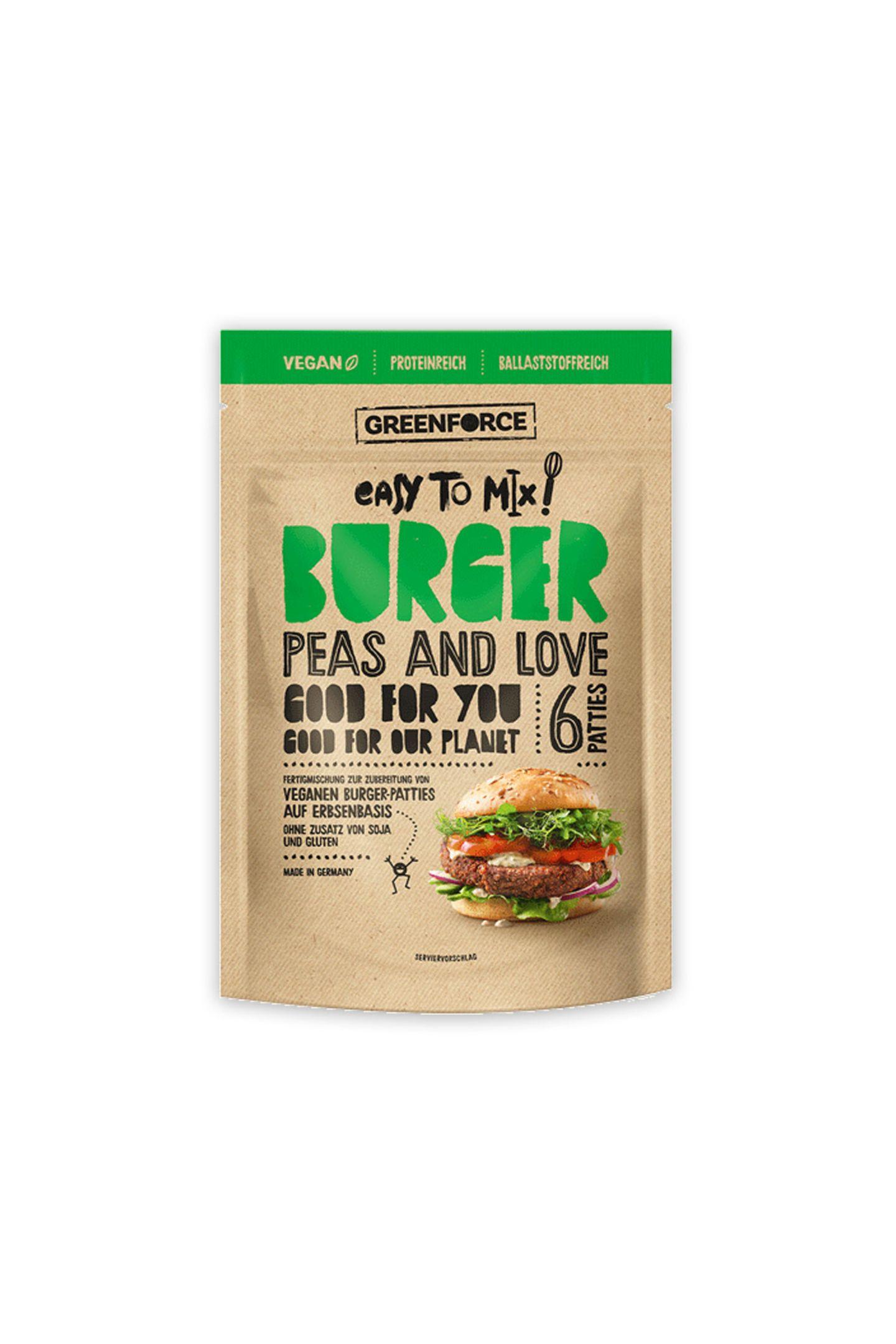 PflanzenpowerGrillen und Sommer gehören einfach zusammen. Wer auf Fleisch, aber nicht auf guten Geschmack verzichten will, kann mit diesem Fertig-Mix für sechs Patties nichts verkehrt machen. Von Greenforce, ca. 5 Euro