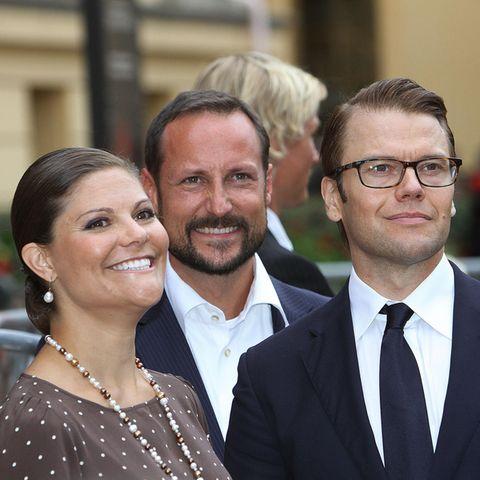 Prinzessin Victoria, Prinz Haakon und Prinz Daniel