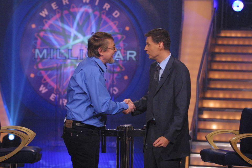 Wer wird Millionär: Jauch gratuliert Millionengewinner