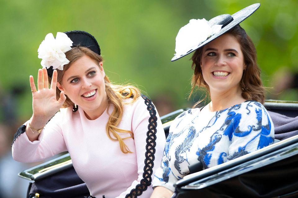 Prinzessin Beatrice und Prinzessin Eugenie