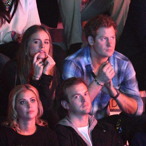 Das Model Cressida Bonas und Prinz Harry waren von 2012 bis 2014 ein Paar.