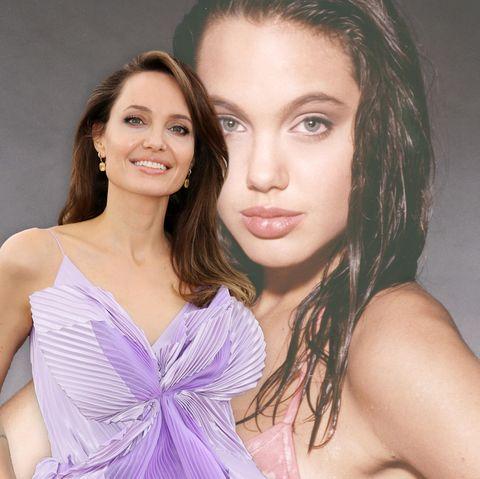 Happy birthday, Angelina Jolie! Zu ihrem 46. Geburtstag zeigen wir den Beauty-Wandel der Hollywood-Schönheit in Bildern.