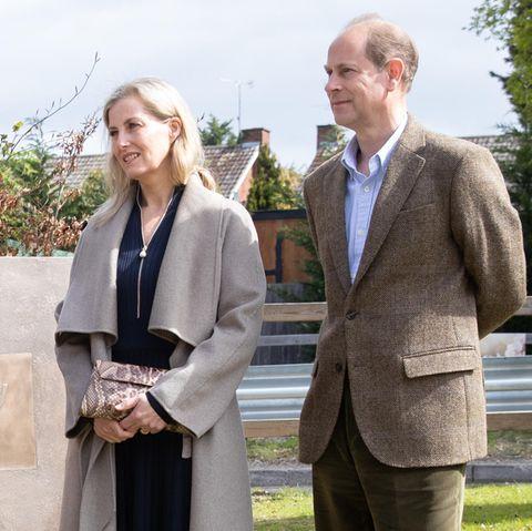 Sophie von Wessex und Prinz Edward