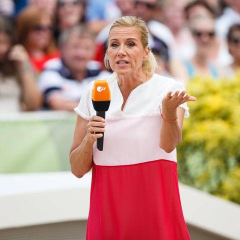 """ZDF-Fernsehgarten""-Moderatorin Andrea Kiewel"