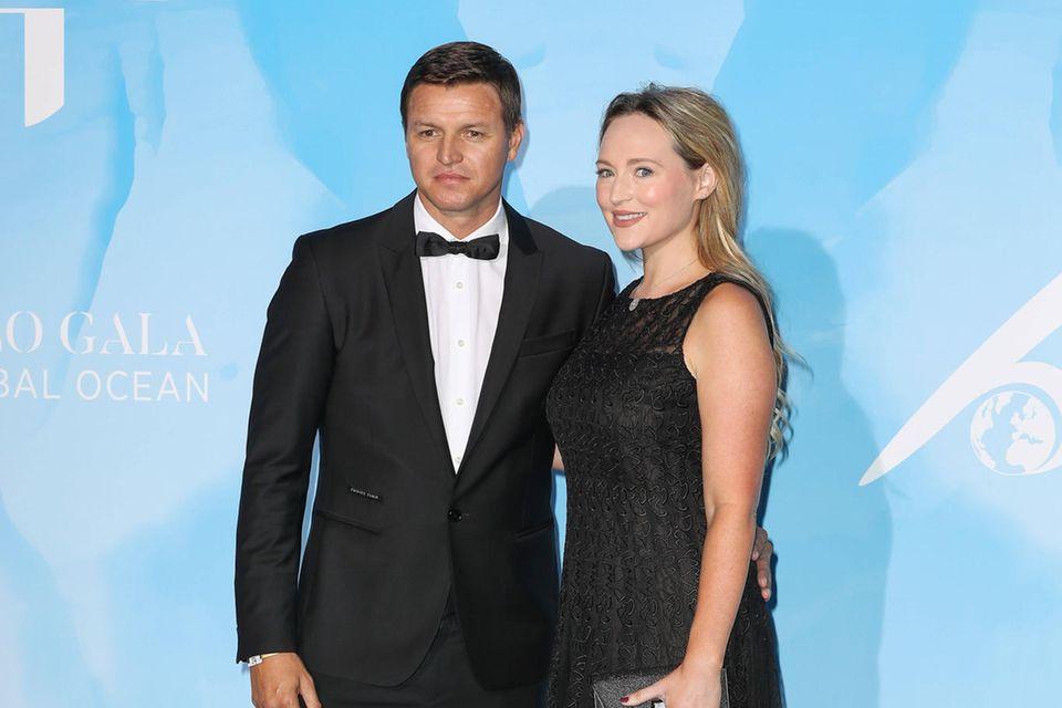 """Gareth Wittstock und Ehefrau Roisin besuchen im September 2019 die""""3. Global Ocean Gala"""" in der""""Opéra de Monaco""""."""